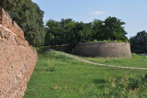 Die Stadtmauer von Ferrara