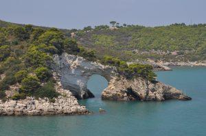 Arco di San Felice im Gargano Apulien