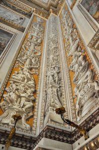 Detail der Basilica di Sant'Andrea in Mantua