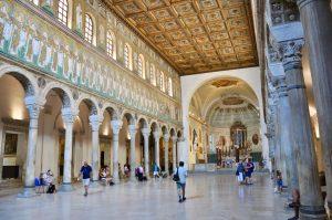 In der Basilica di S. Apollinare Nuovo in Ravenna
