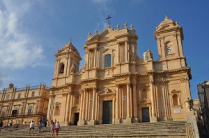 Sizilianischer Barock.Die Cattedrale di San Nicolò in Noto