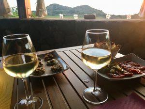 Aperitivo bei Emanuela Bonomo in Rekhale auf Pantelleria