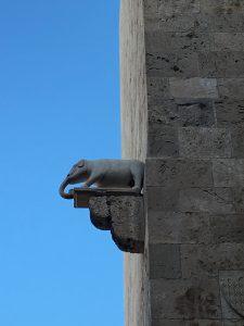 Der Torre dell'Elefante in Cagliari auf Sardinien