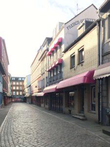 Einblick in die Herbertstraße