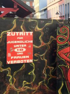 Zutrittsbeschränkungen in der Herbertstraße auf St. Pauli Hamburg
