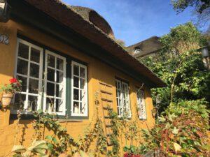 Reetdachhaus im Treppenviertel von Blankenese