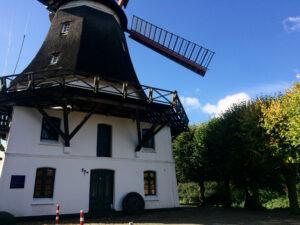 die Windmühle Johanna in Wilhelmsburg