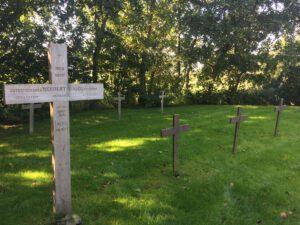 Auf dem Friedhof der Namenlosen auf Neuwerk