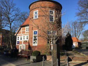 das Geburtshaus des Komponisten Hasse in Bergedorf