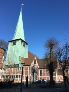 Die St. Petri und Pauli Kirche in Bergedorf